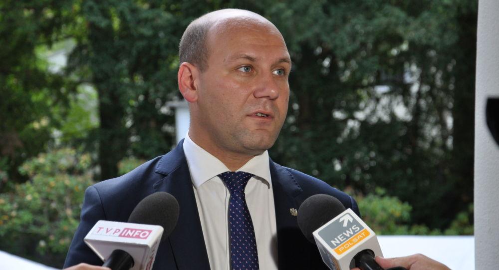 Wiceminister spraw zagranicznych Polski Szymon Szynkowski vel Sęk