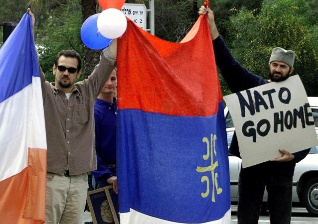 Obywatele Jugosławii podczas bombardowań 1999 roku