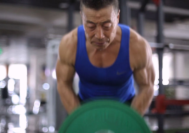 Chiński Schwarzenegger