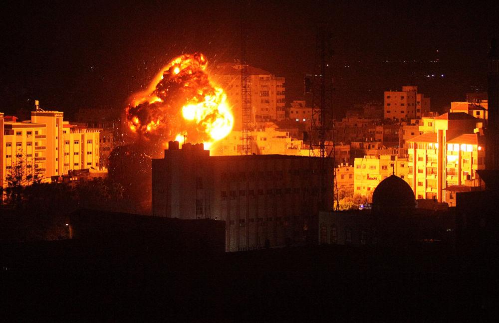 Wybuchy w Stefie Gazy podczas ataku Izraela