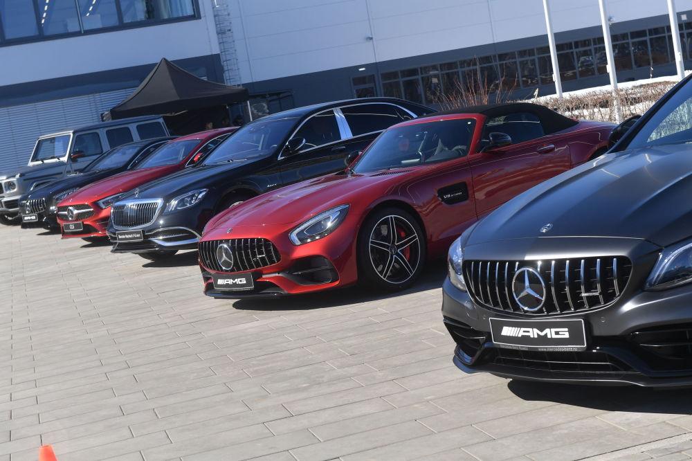 Samochody wyprodukowane w fabryce Mercedes-Benz, która została otwarta w obwodzie moskiewskim