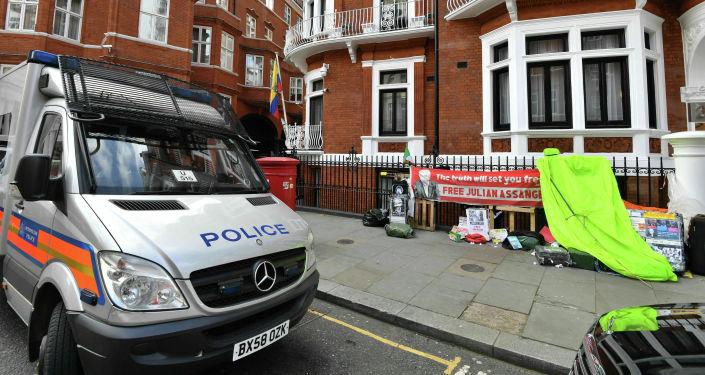 Ambasada Ekwadoru w Londynie