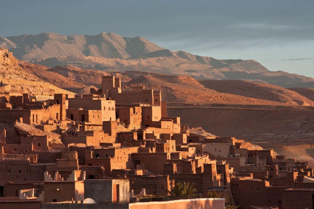 Ajt Bin Haddu, ufortyfikowana osada w Maroku