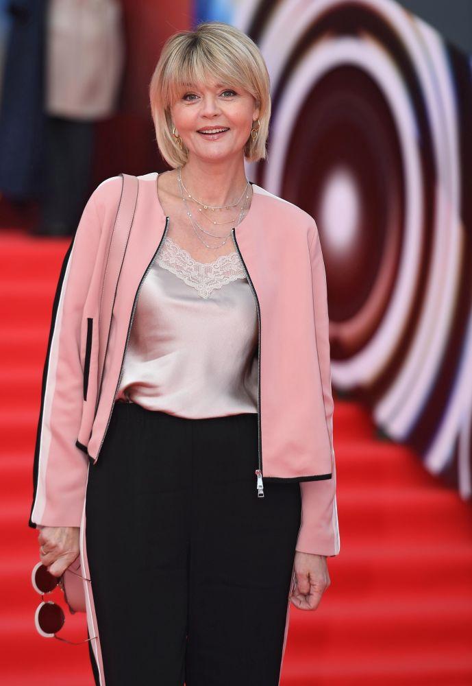 Aktorka i prezenterka telewizyjna Julia Menszowa na otwarciu Moskiewskiego Międzynarodowego Festiwalu Filmowego