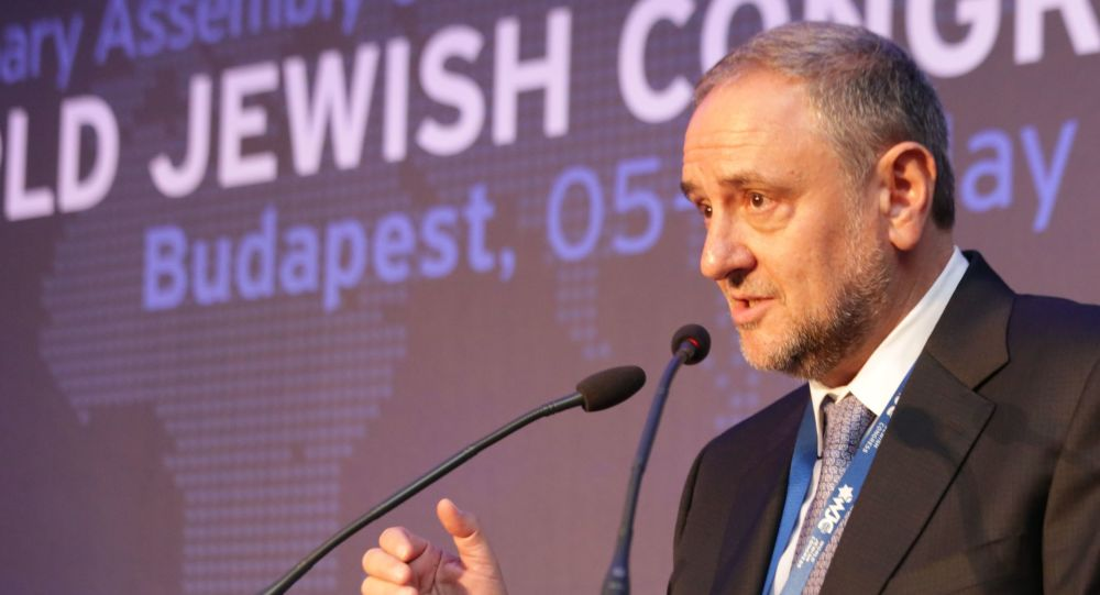 Dyrektor wykonawczy Światowego Kongresu Żydów Robert Singer