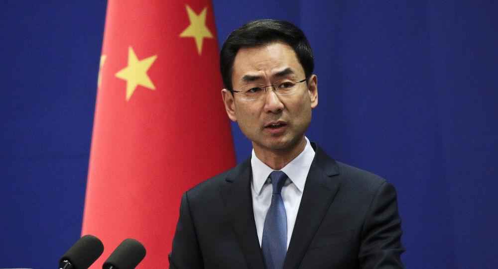 Rzecznik MSZ ChRL Geng Shuang