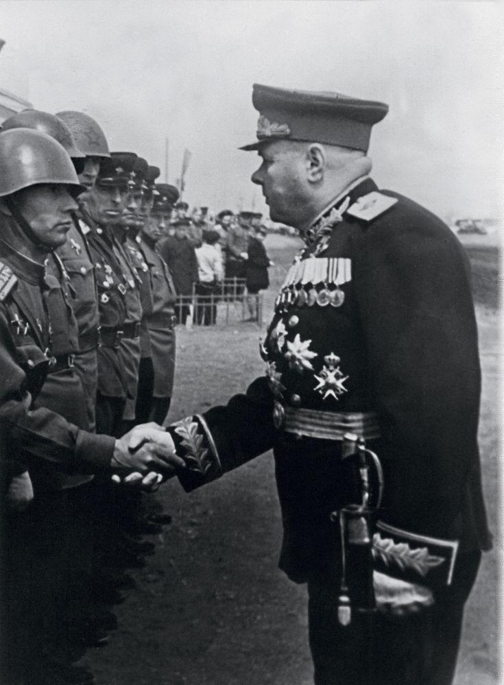Kiriłł Afanasjewicz Mierieckow, radziecki dowódca wojskowy, marszałek Związku Radzieckiego