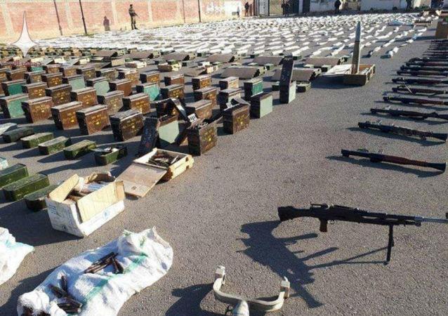 Amerykańska broń w Syrii