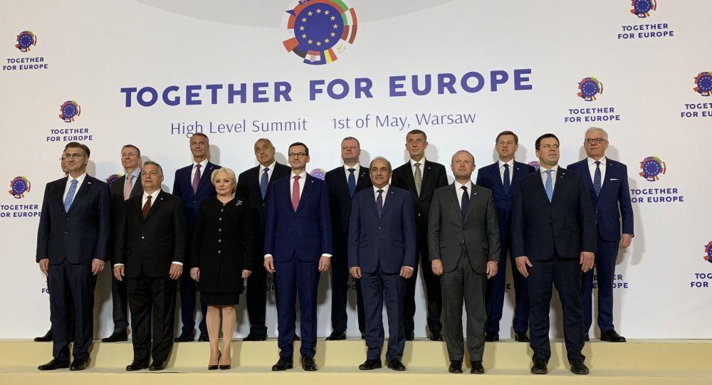 Uczestnicy szczytu Together for Europe - High Level Summit