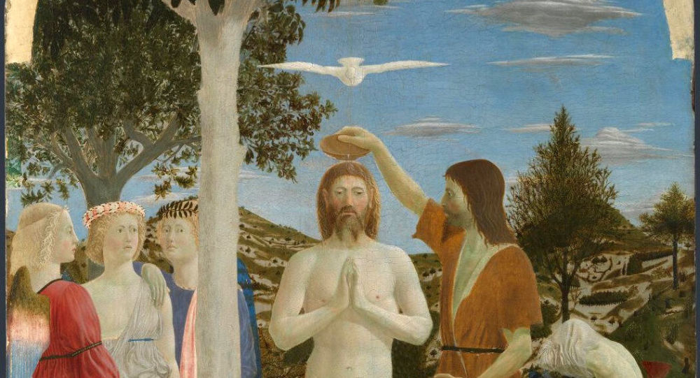 Chrzest Chrystusa (Piero della Francesca, lata 50. XV w.)