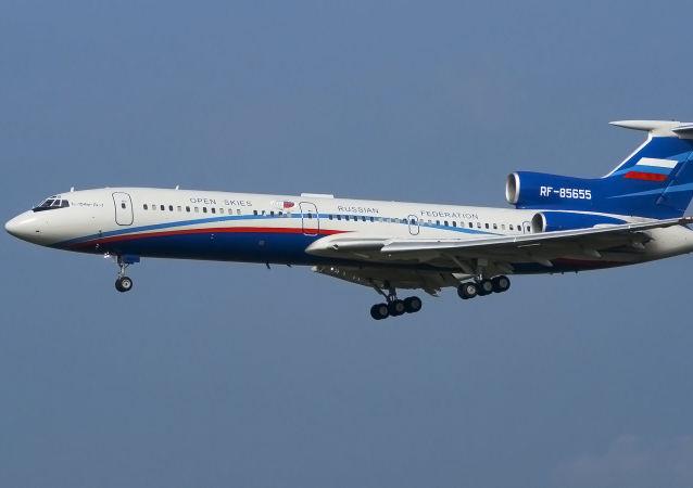 Rosyjski samolot Tu-154M-LK-1