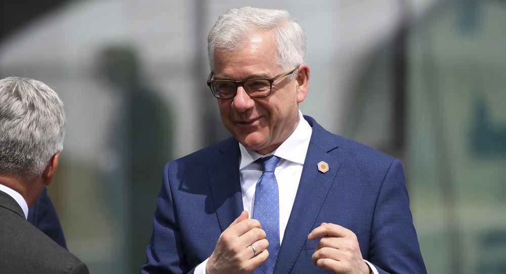 Minister Spraw Zagranicznych RP Jacek Czaputowicz