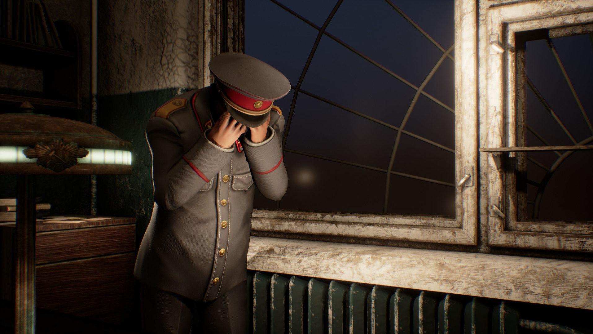 Screenshot z gry komputerowej Sex with Stalin