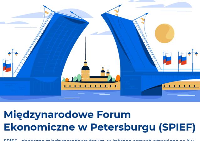 XXIII Międzynarodowe Forum Ekonomiczne w Petersburgu (SPIEF)