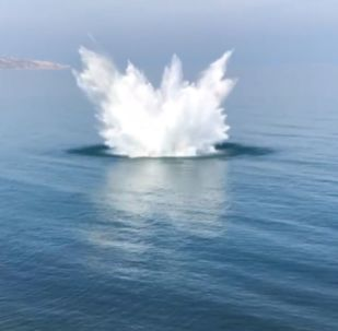 Rosja: Cztery kopalnie drugiej wojny światowej odkryto i zniszczono na dnie Morza Czarnego na Krymie
