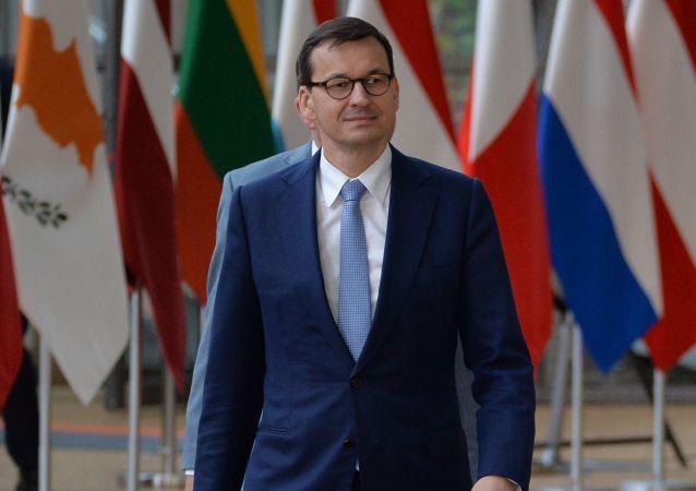 Mateusz Morawiecki podczas nieformalnego szczytu UE w Brukseli