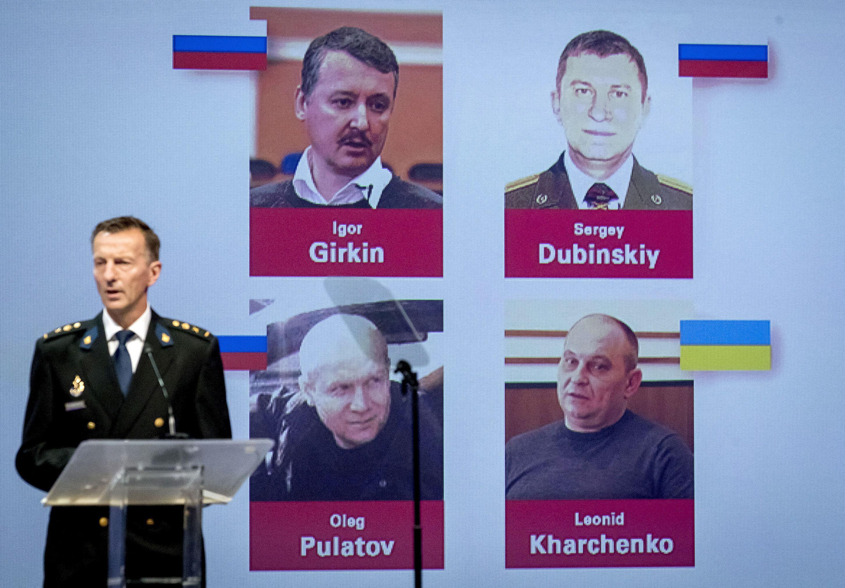 Podejrzani w sprawie katastrofy Boeing-777 w Donbasie