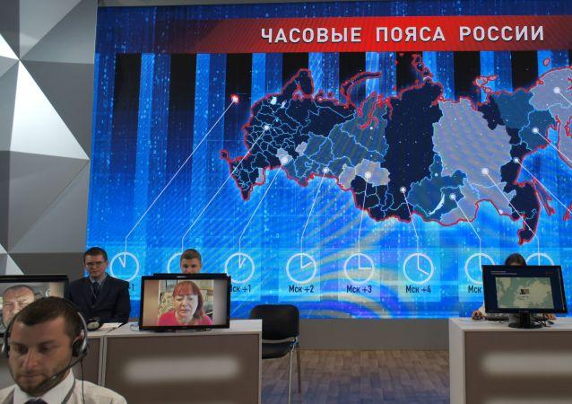 Gorąca linia z Władimirem Putinem 2019