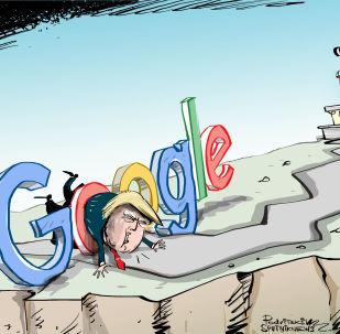 Google stoi na drodze  Trumpa