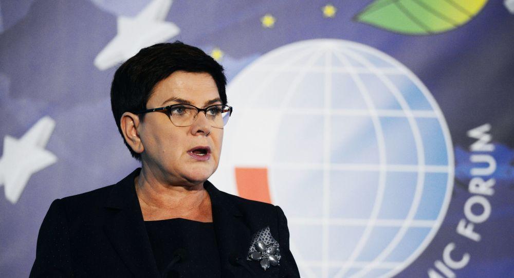 Beata Szydło na Forum Ekonomicznym w Krynicy-Zdrój