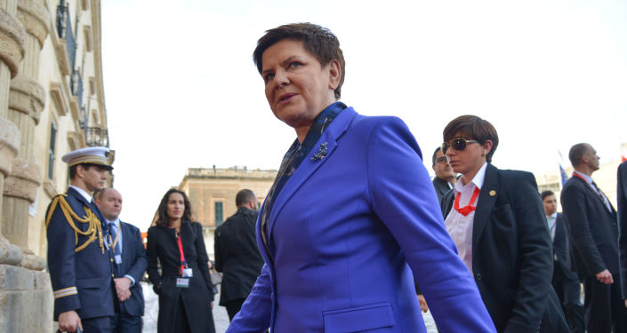 Beata Szydło podczas szczytu UE na Malcie