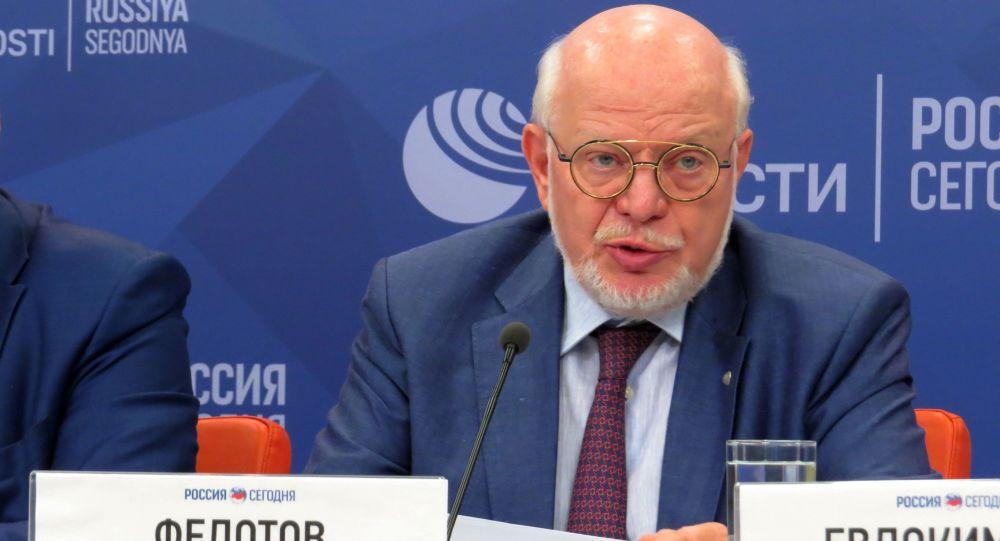 Przewodniczący Prezydenckiej Rady ds. Rozwoju Społeczeństwa Obywatelskiego i Praw Człowieka Michaił Fiedotow