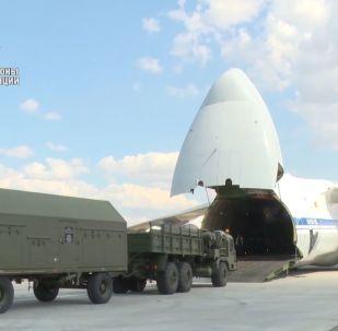 Dostawa komponentów S-400 do Turcji