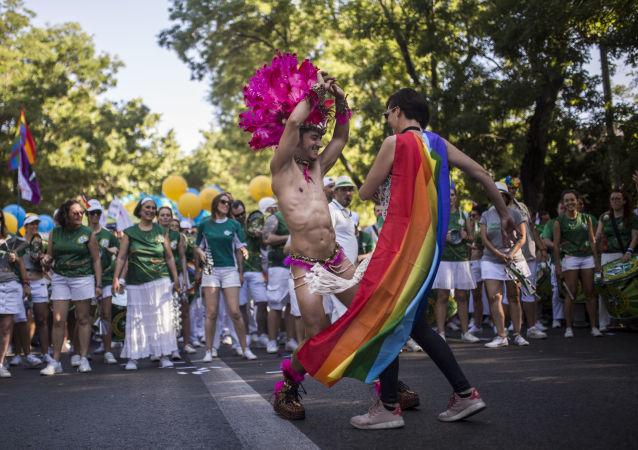 Parada LGBT w Madrycie