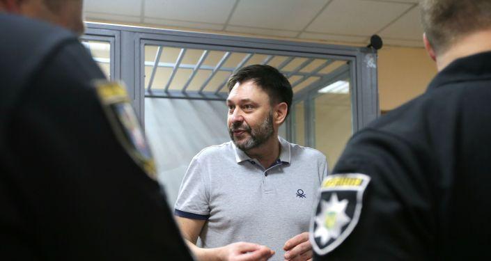 Kiriłł Wyszynski w sądzie w Kijowie