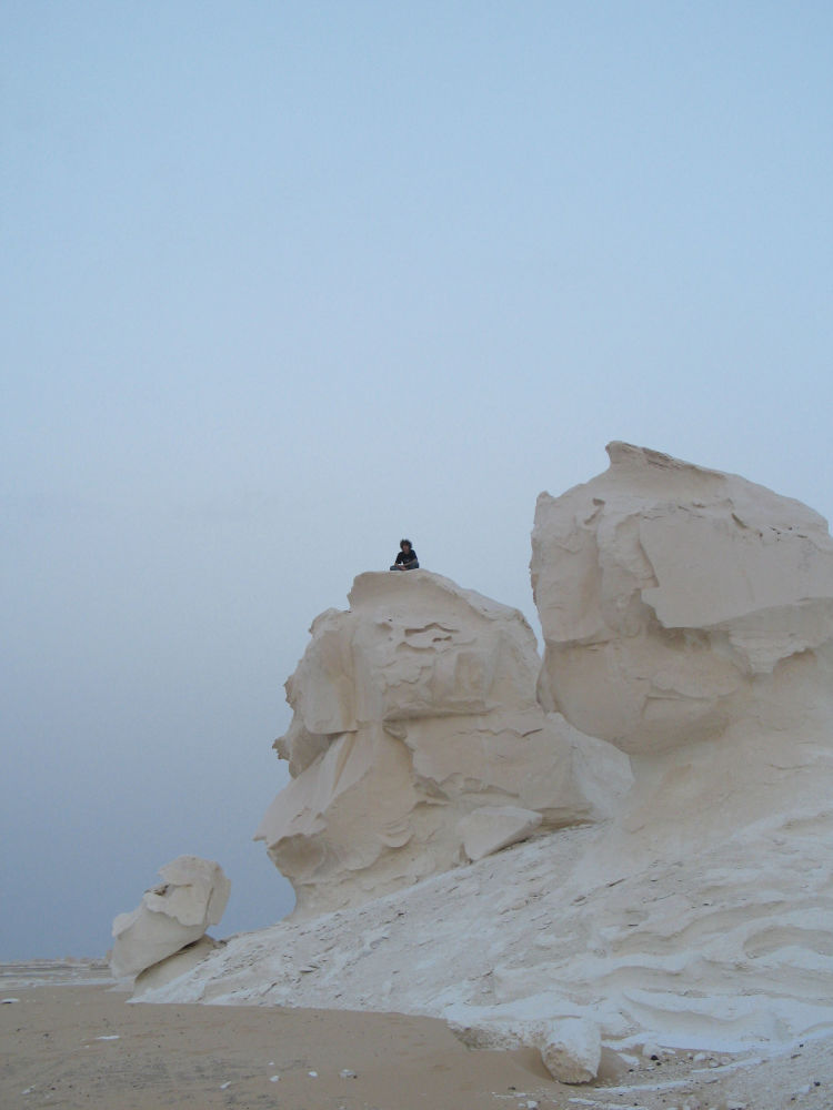 Biała pustynia w Egipcie