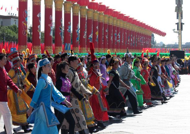 Obchody 60. rocznicy powstania Chińskiej Republiki Ludowej