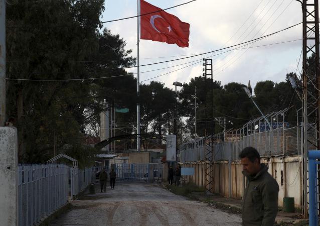 Turecko-syryjska granica, miasto Darbasiyah