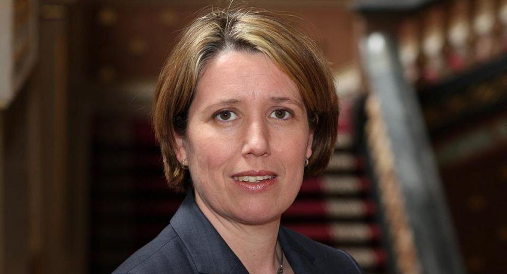 Ambasador Wielkiej Brytanii w Kijowie Judith Gough