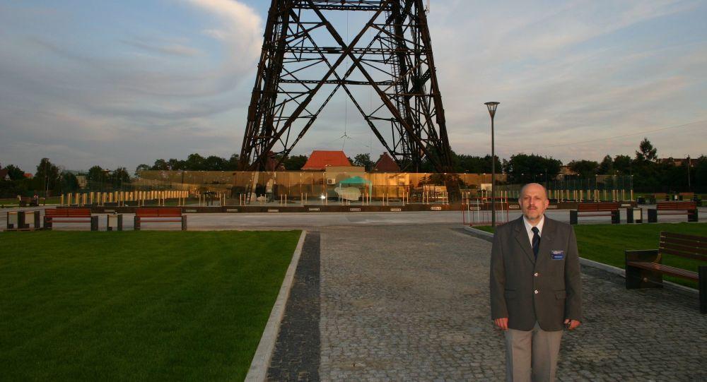 Dyrektor Muzeum Radiostacja Gliwice Andrzej Jarczewski, 2009 rok
