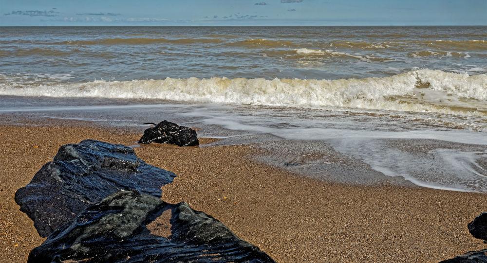 Plaża w Lincolnshire, Wielka Brytania