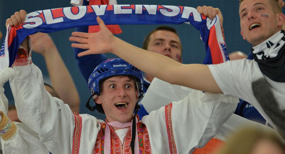 Kibic ze Słowenii