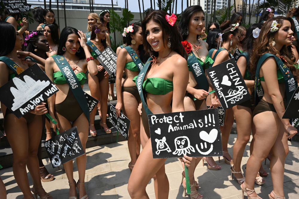 Kandydatka ubiegająca się o tytuł Miss Earth 2019 z Panamy