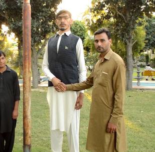 Wysoki mężczyzna