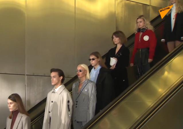 Pokaz w metrze
