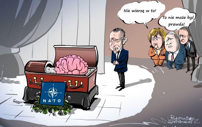 Macron: Martwica mózgu NATO