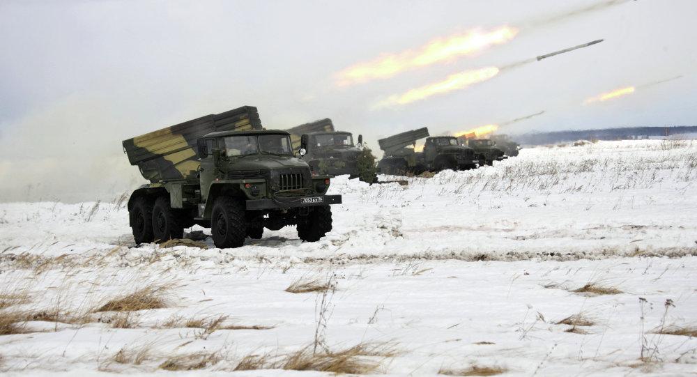 Wyrzutnia rakietowa BM-21 Grad