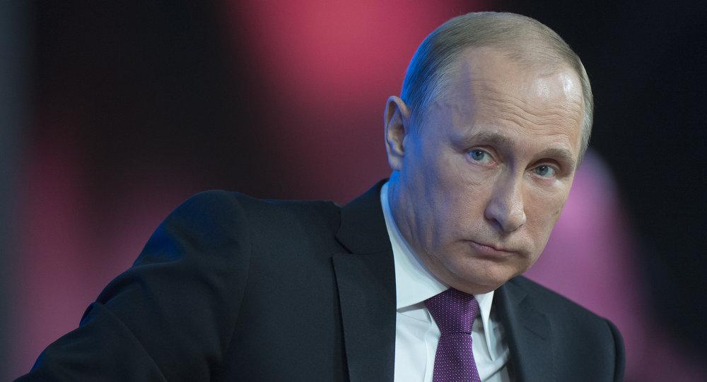 Władimir Putin, konferencja prasowa 2014
