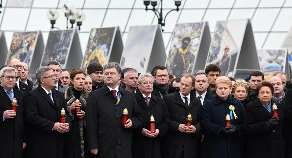 Marsz Godności w Kijowie, 22 lutego 2015