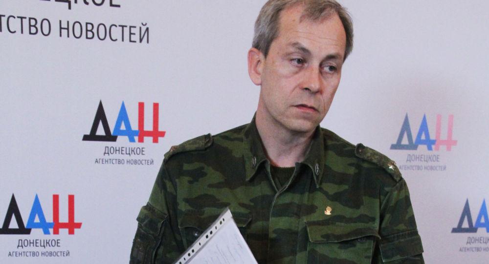 Zastępca dowódcy sztabu DRL Eduard Basurin