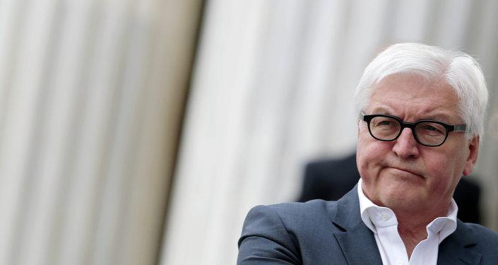 Minister spraw zagranicznych Niemiec Frank-Walter Steinmeier