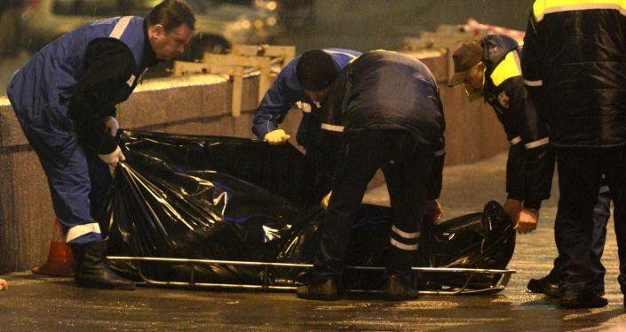 Zabójstwo rosyjskiego opozycjonisty Borysa Niemcowa w centrum Moskwy