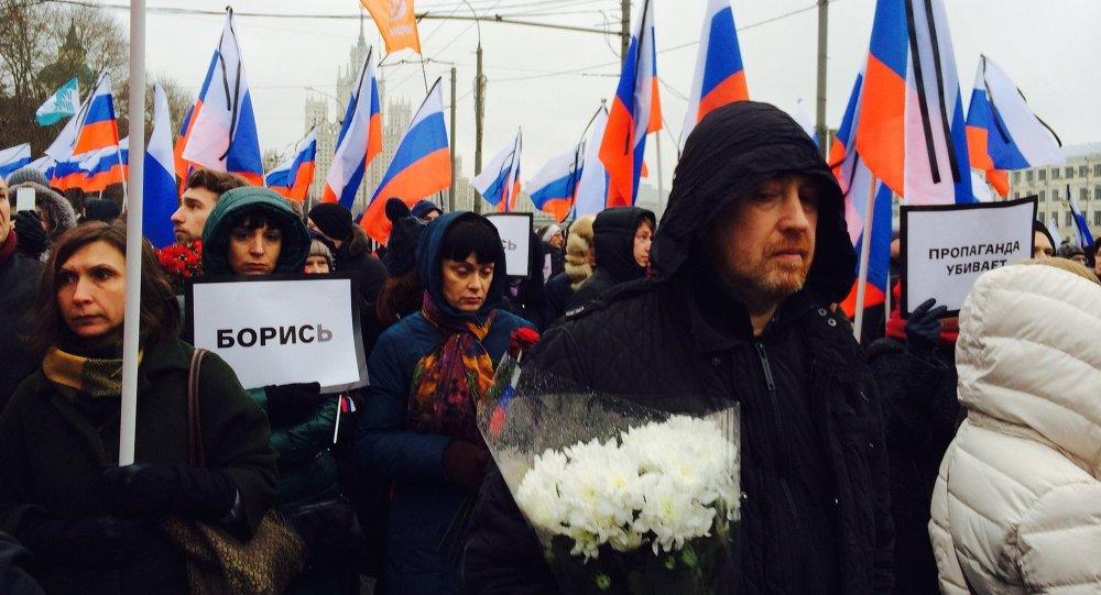 Marsz pamięci Borysa Niemcowa w Moskwie