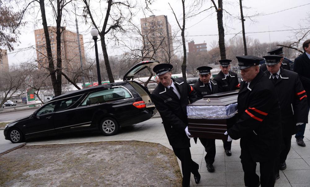 Ostatnie pożegnanie Borysa Niemcowa