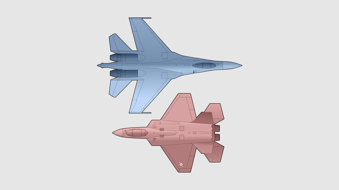 SU-35S vs. KF-21 - Sputnik Polska, 1920, 20.04.2021