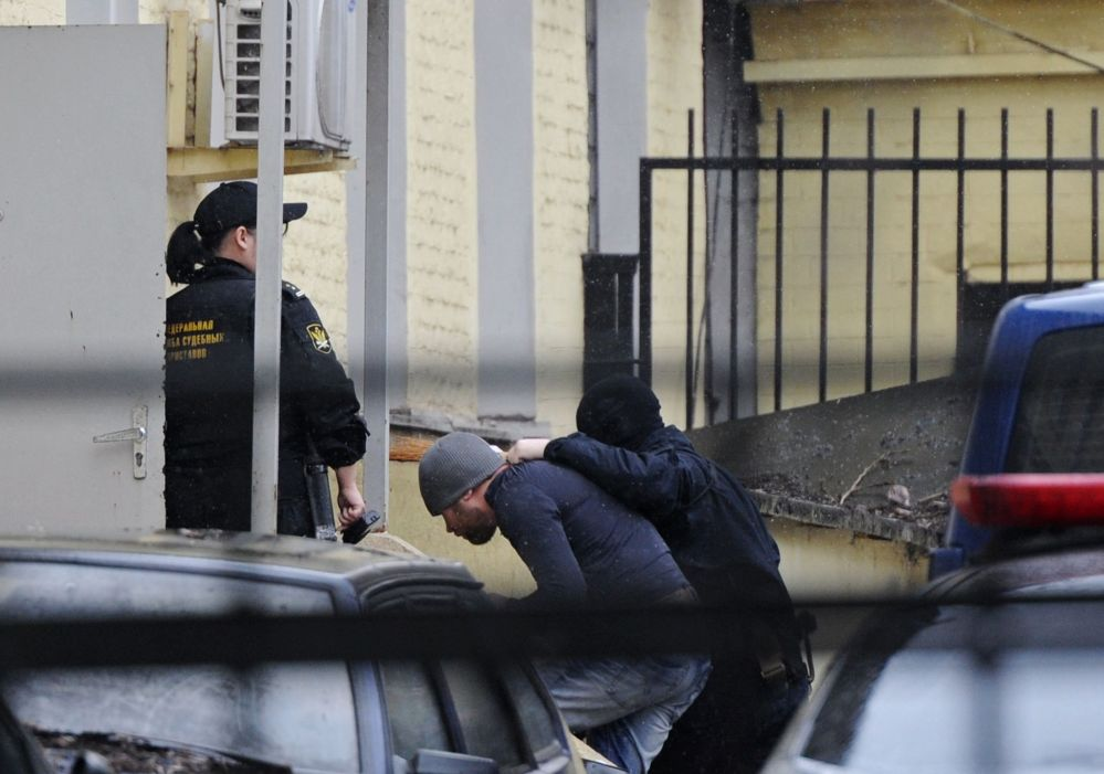 Mężczyźni podejrzewani o zamordowanie Borysa Niemcowa w moskiewskim sądzie